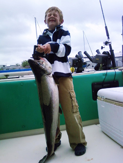 Photo log emma j sport fishing charters for Mackinaw city fishing charters