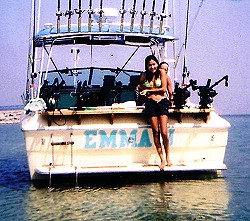 Lake Huron Charter Fishing with Emma J Fishing Charters near Cheboyban and Mackinaw City Michigan